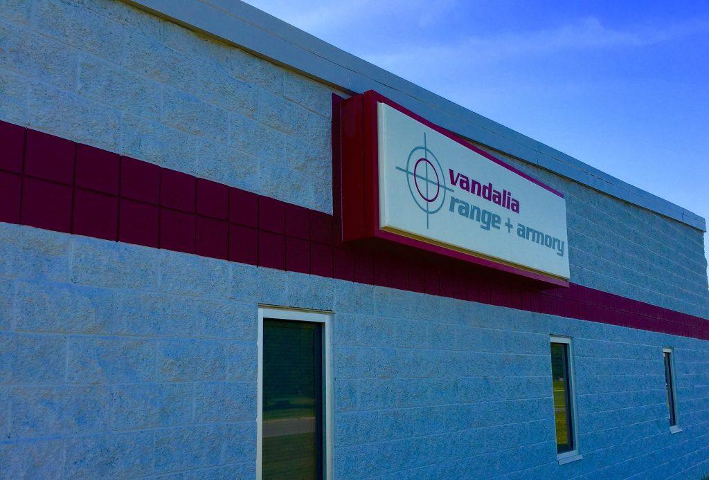 Vandalia Range and Armory Storefront