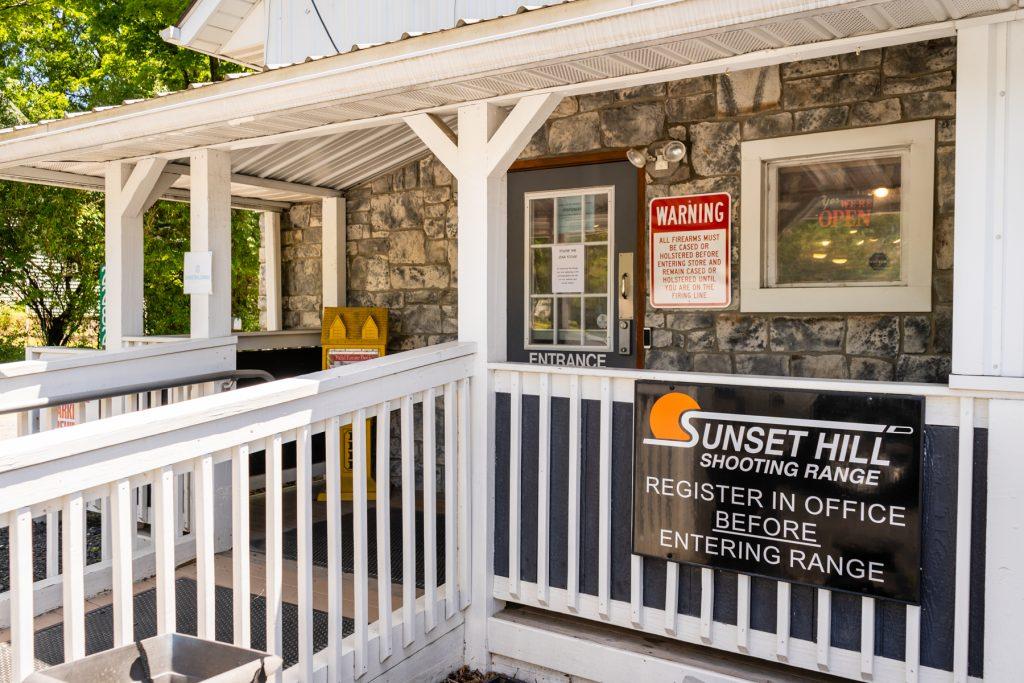 Sunset Hill Shooting Range Storefront