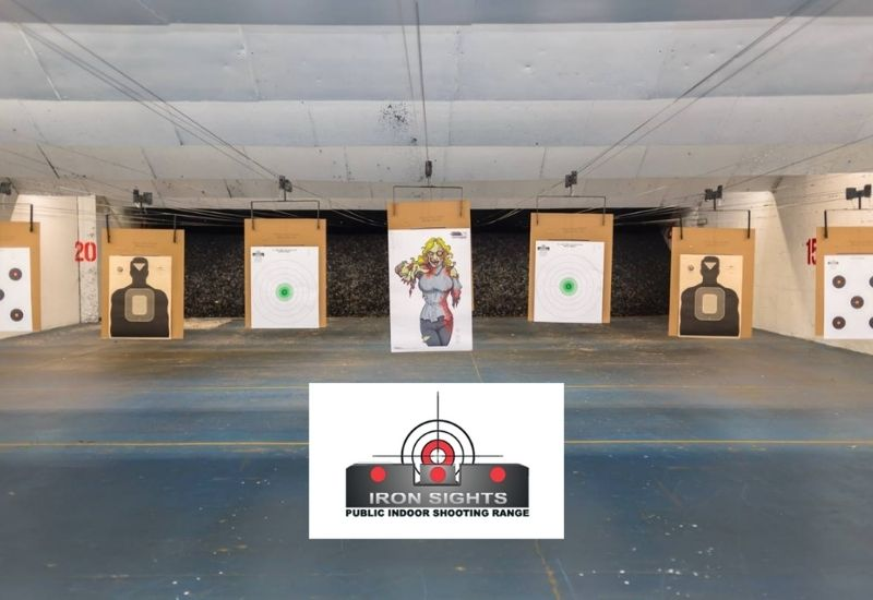 Iron Sights Indoor Shooting Range Trusts AXIS POS for Easy, Compliant Operations