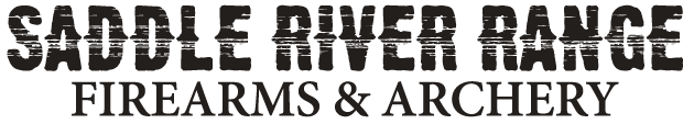 saddle river range firearms and archery logo