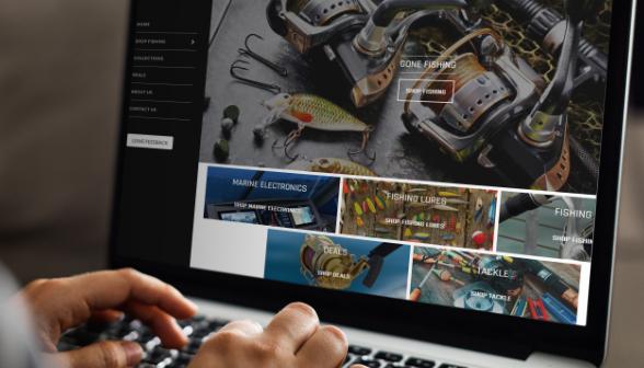 gearfire ecommerce platform on a laptop