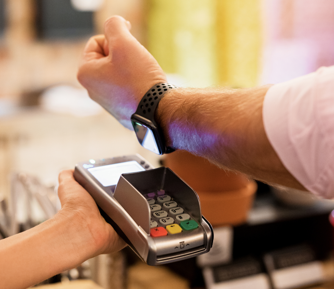 Apple pay at checkout with card reader