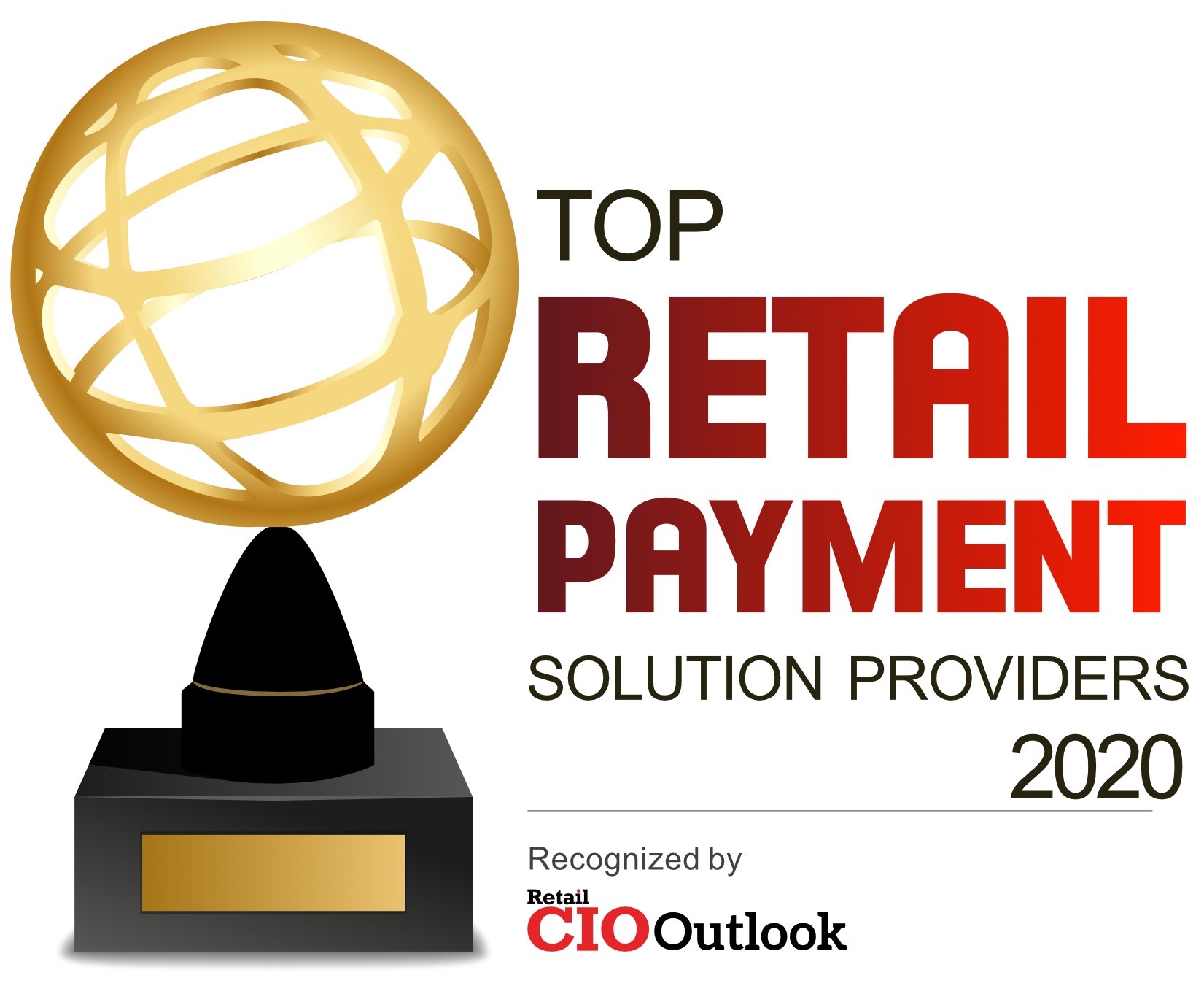 Gearfire Payments CIO Outlook 2020 award