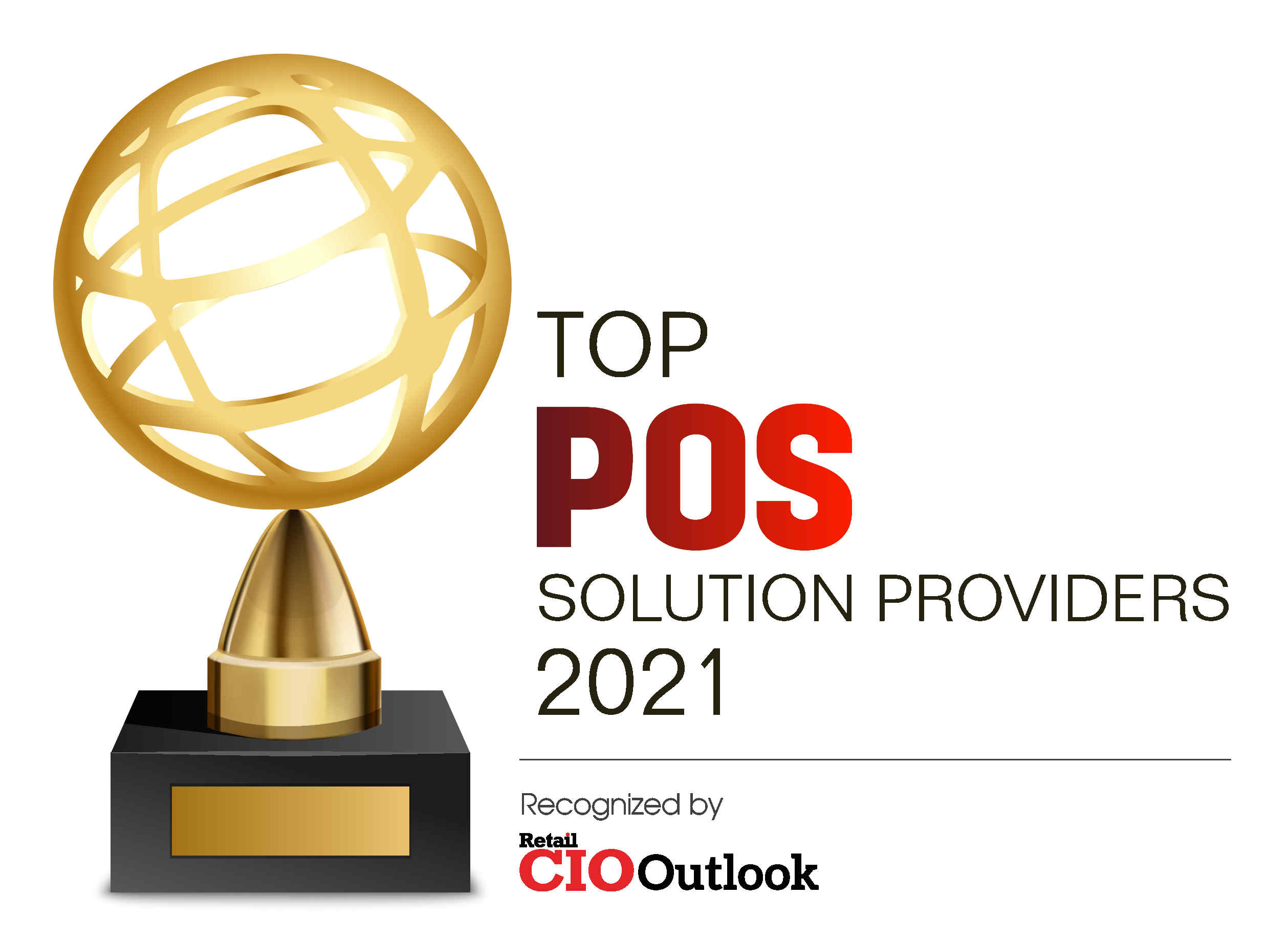 point of sale solution provider award