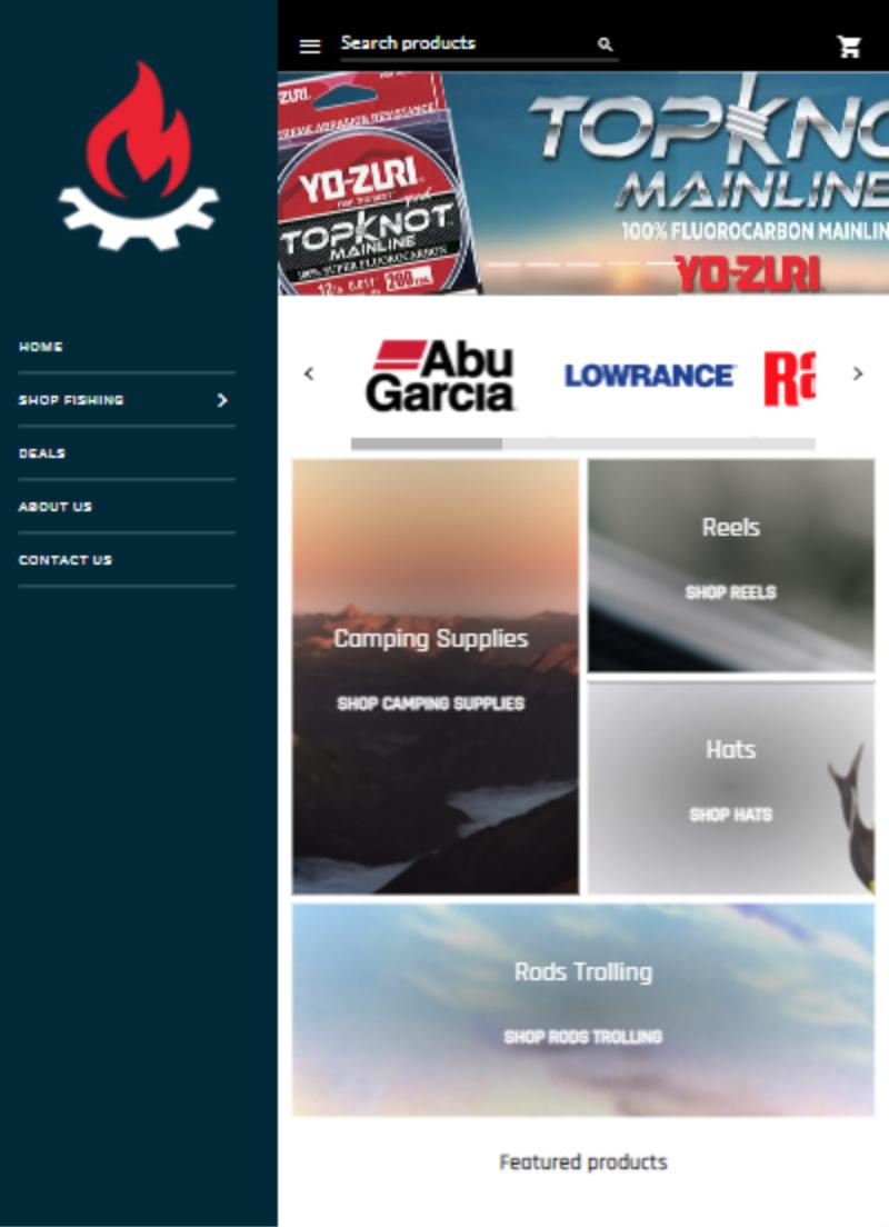 ecommerce platform homepage