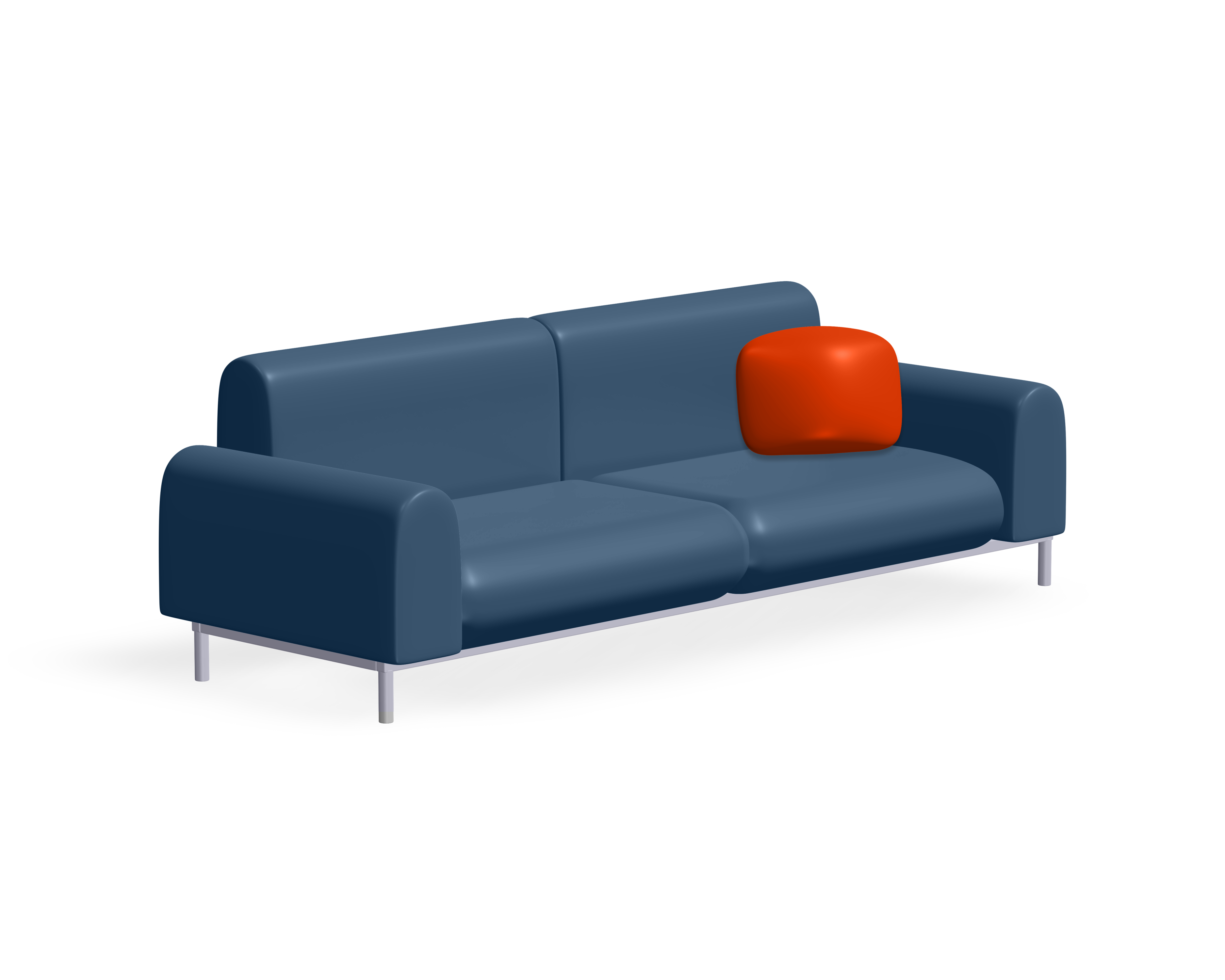 comfy sofa to sit and relax