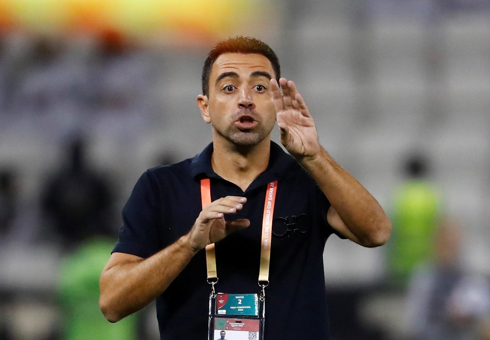 Quel entraineur est Xavi ?