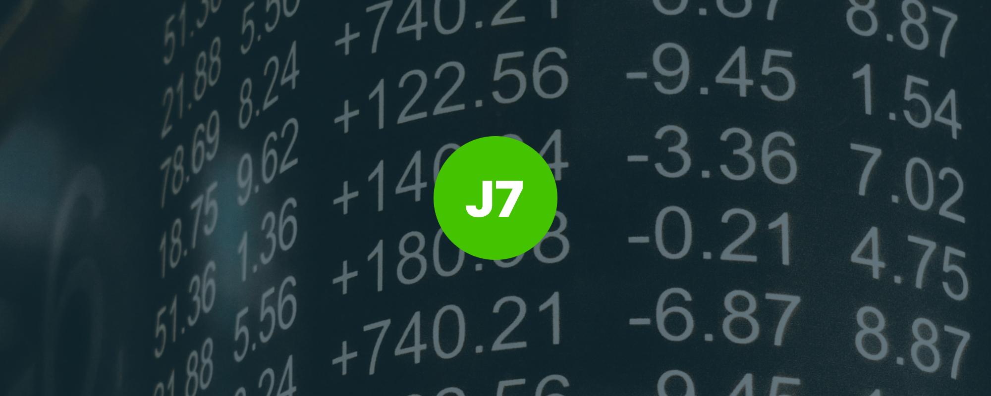 La J7 vue par les DATA