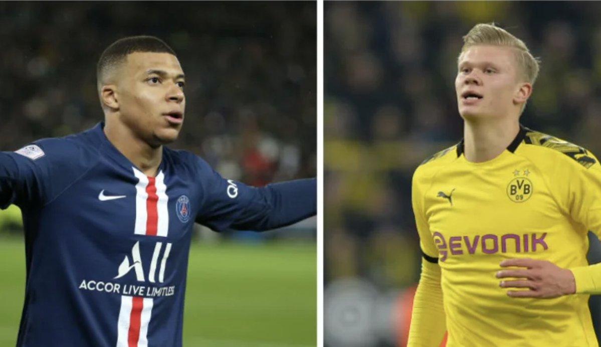 Comparatif joueur : Mbappé/Haaland