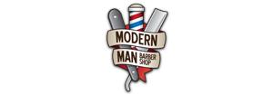 Modern Man Barber Shop Logo