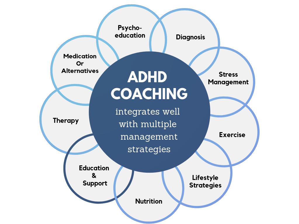 ADHD Coaching Diagram