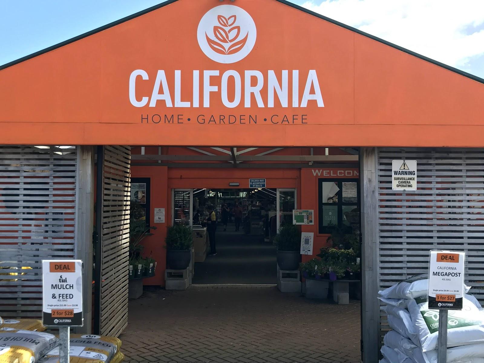 Store entrance at California Home & Garden
