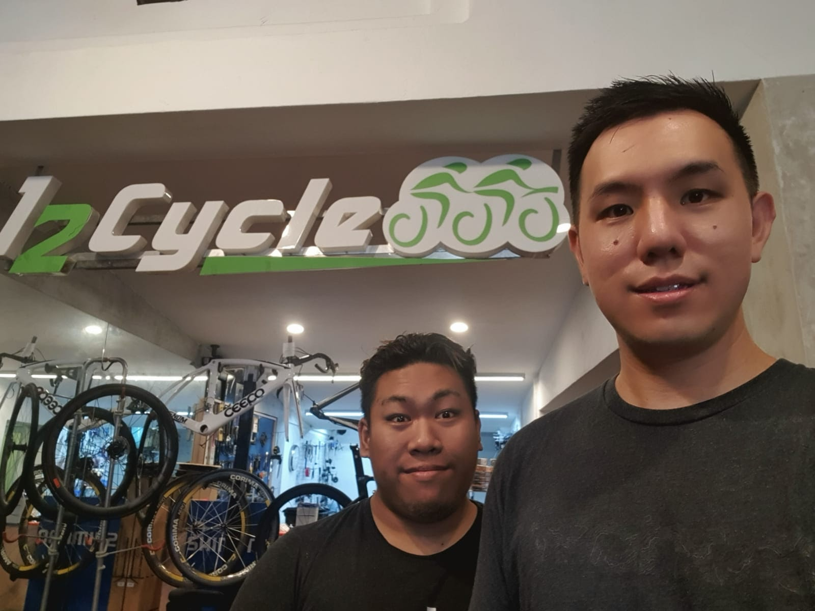 Zhenrong and Hassan of 12Cycle