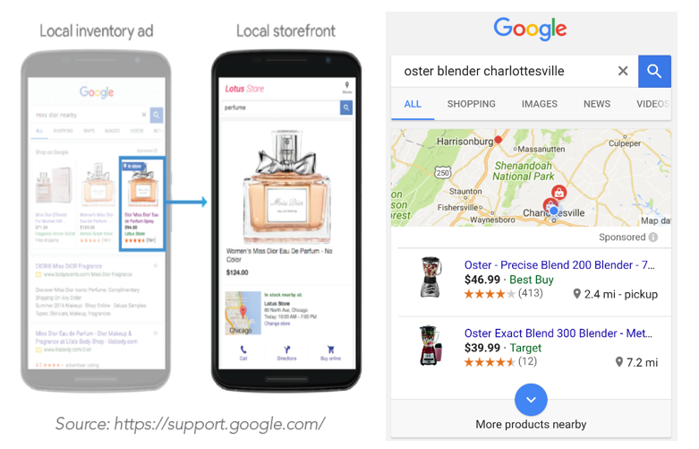 Google local inventory ads in Singapore