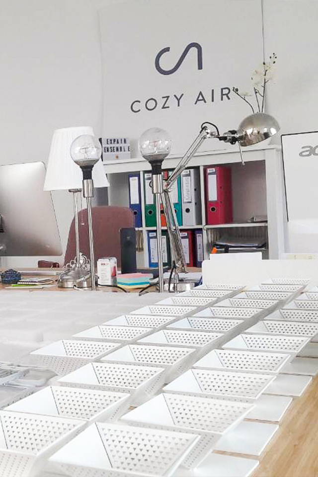 Montage des capteurs pyramide inversée