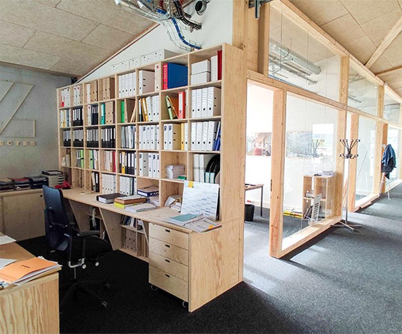 Bureaux d'un cabinet d'architecte