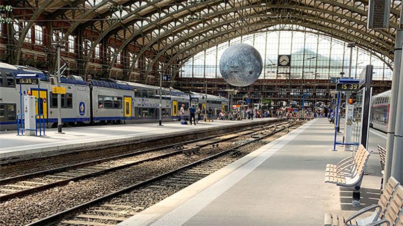 Quai de gare Lille Flandres