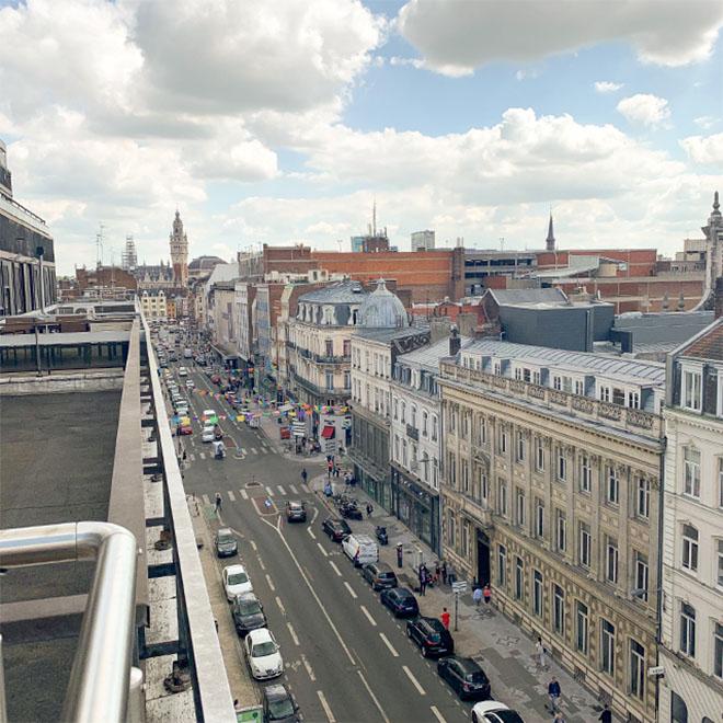 Rue de la métropole lilloise