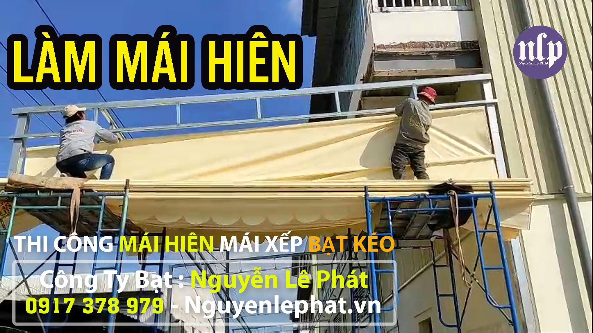 Lắp Đặt Mái Che Di Động , Bạt Kéo Mái Xếp Tại Thuận An Bình Dương