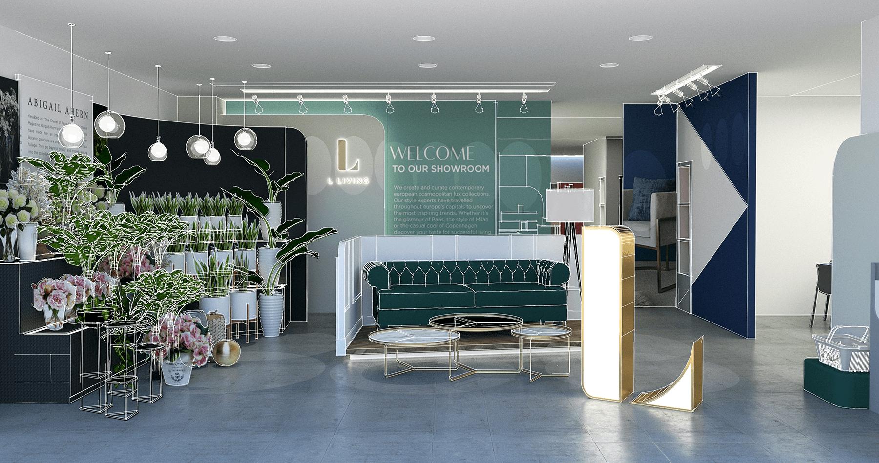 L Living Retail Space Design