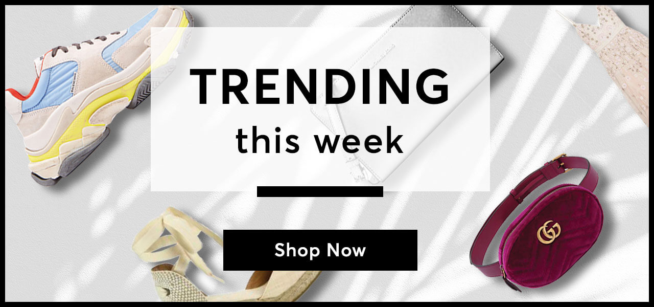 Shopstyle Trending this week Banner