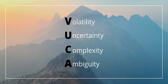 VUCA stands for Volatility, Uncertainty, Complexity, and Ambiguity