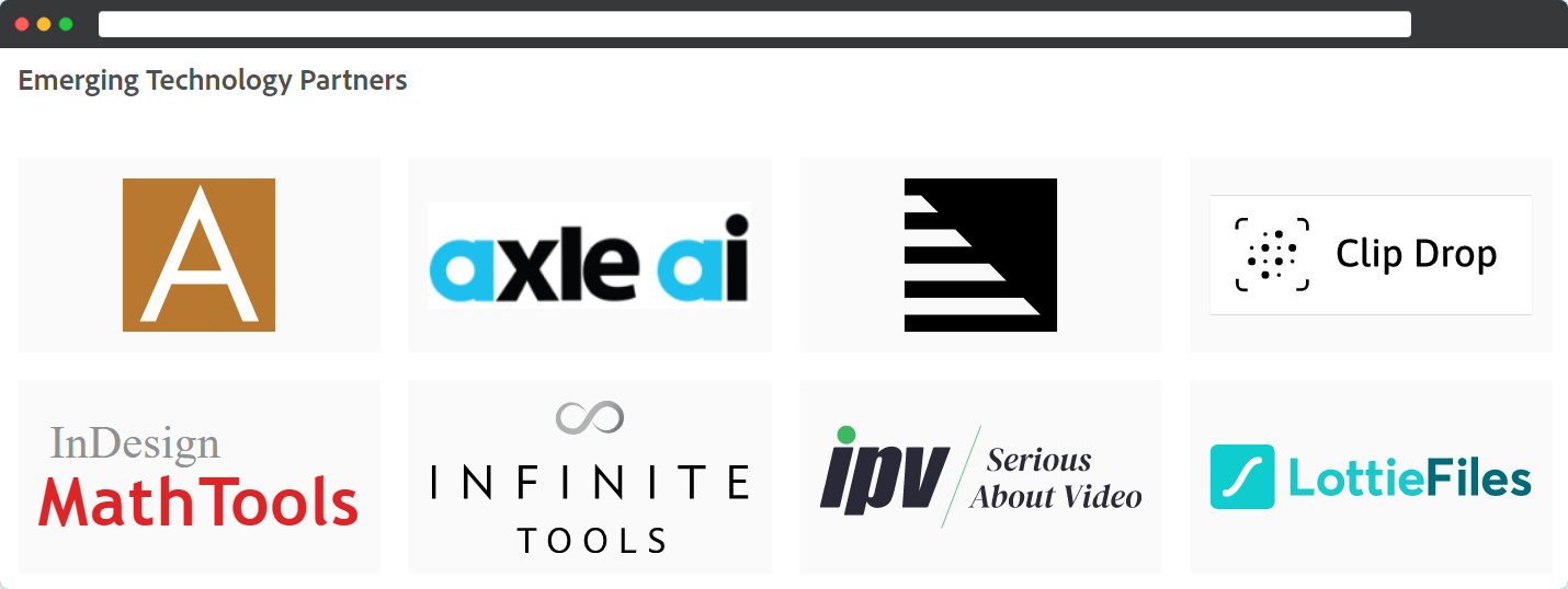 LottieFiles as one of Adobe's Emerging Technology Partners