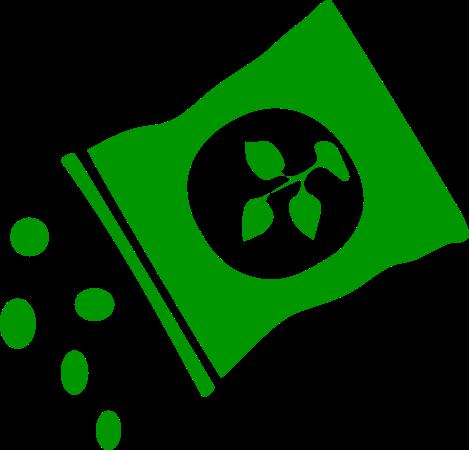 Symbol grüner Dünger