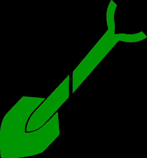 Symbol Spaten