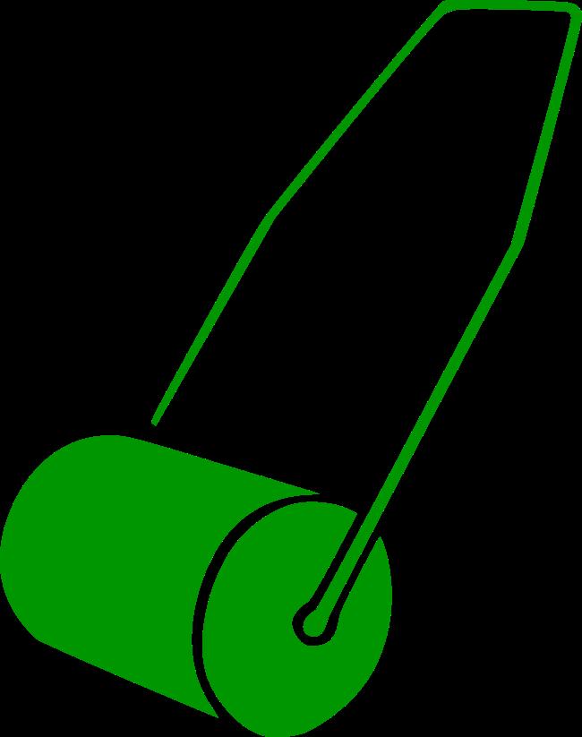 Symbol grüne Walze