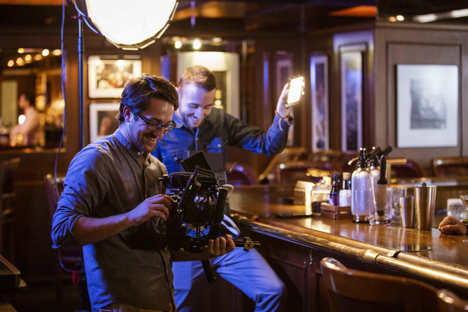 Les Filmmakers Fabian Sauvain et Gilles Damay