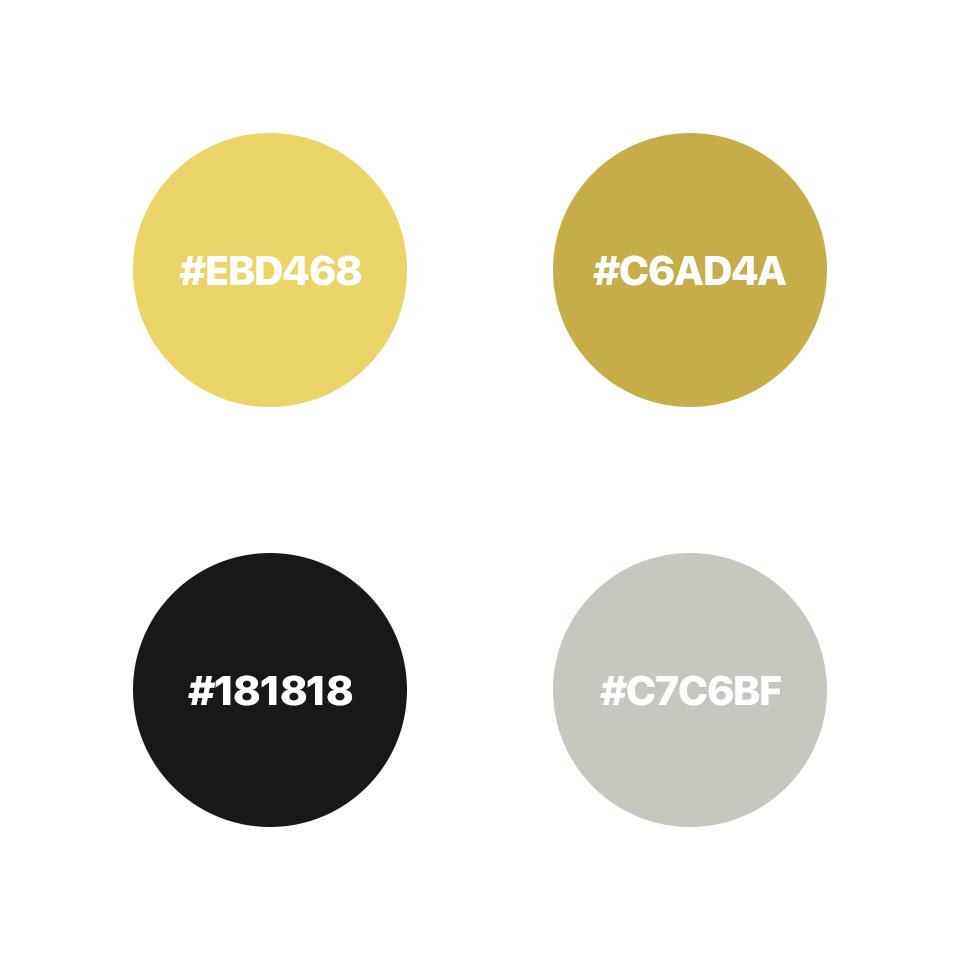 The Debs Co Web Design Colours