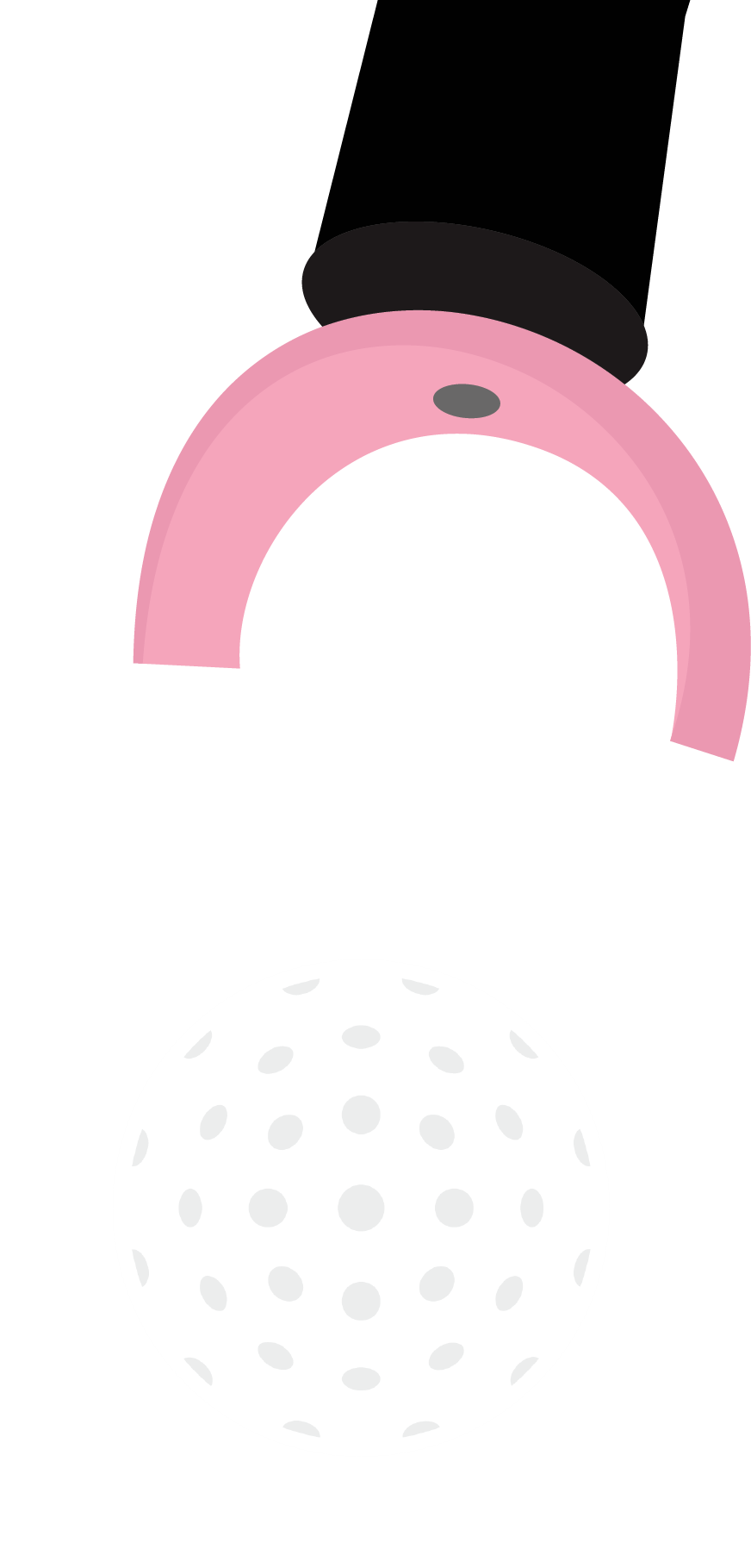 Pink X-Tractor Golf Ball Pick Up