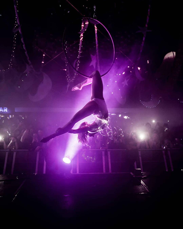 Rhythmic gymnastic ribbon photo