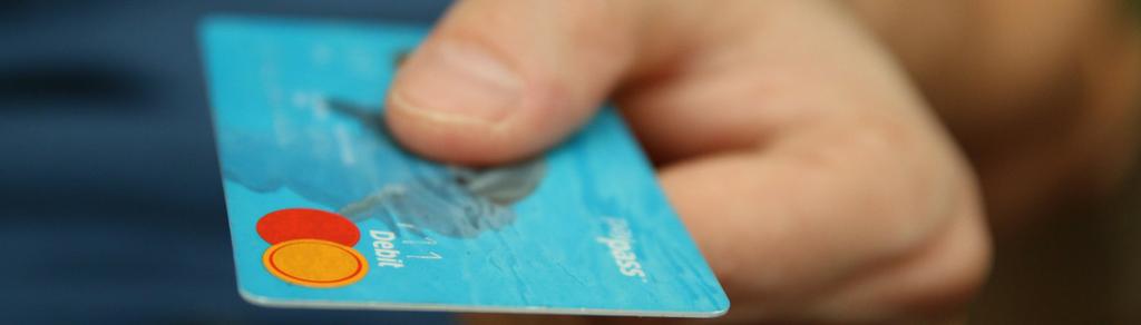 dados do cartão de crédito como informar de forma segura