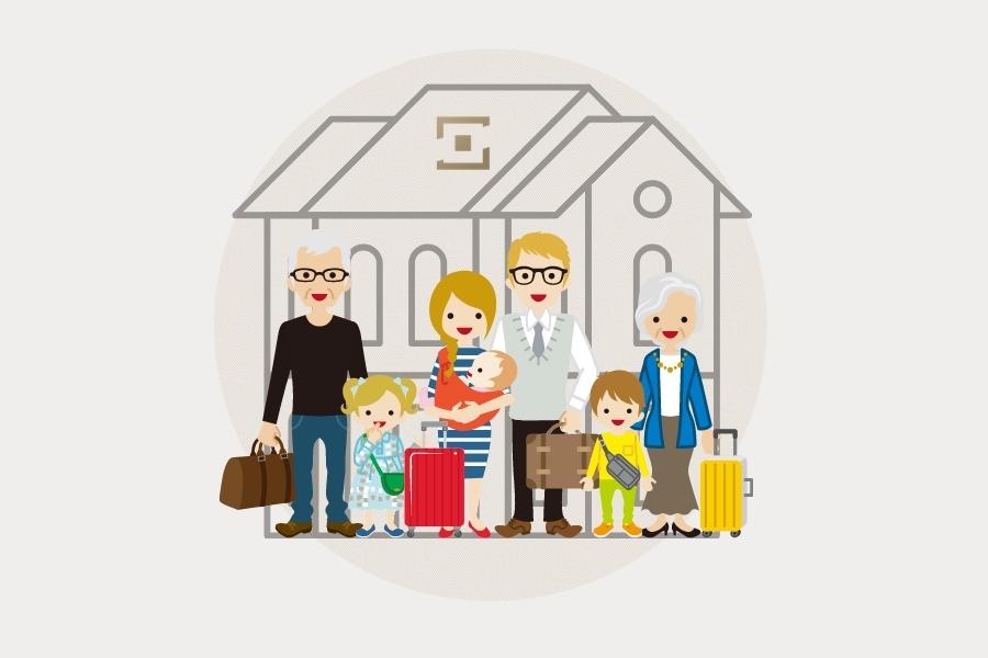 O que são casas multigeracionais?