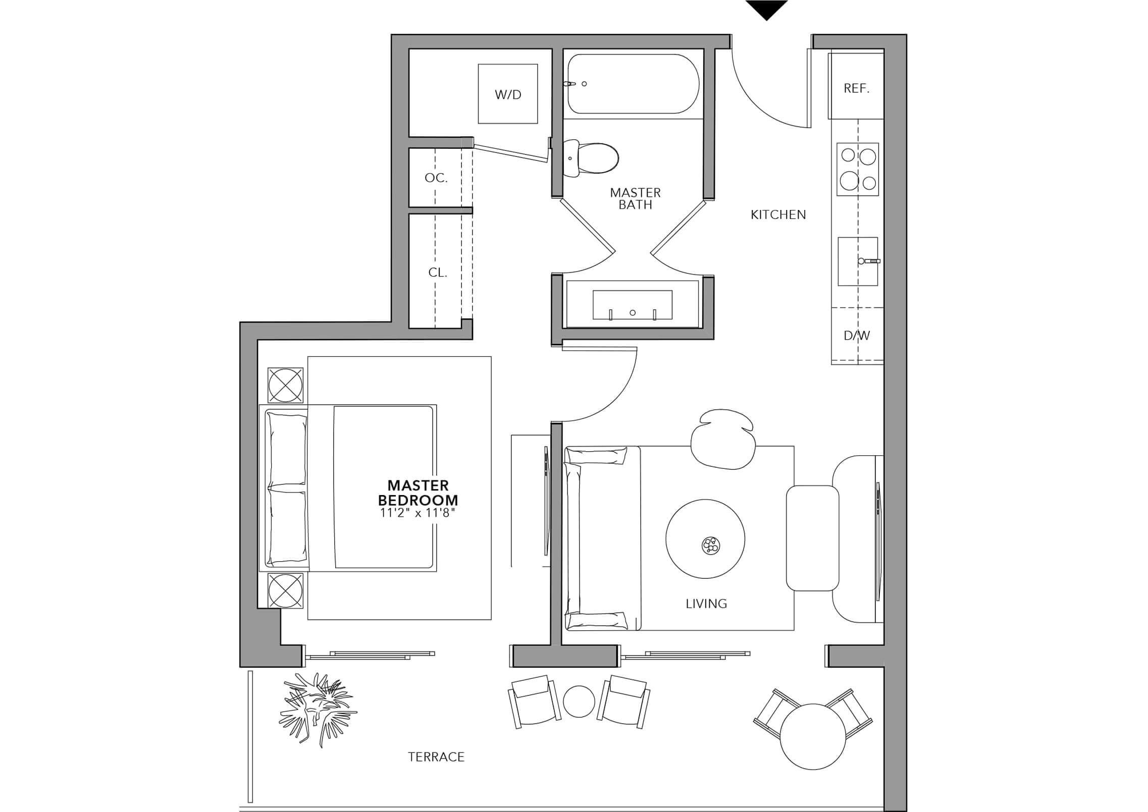 Type 14 (Floor 24-47)