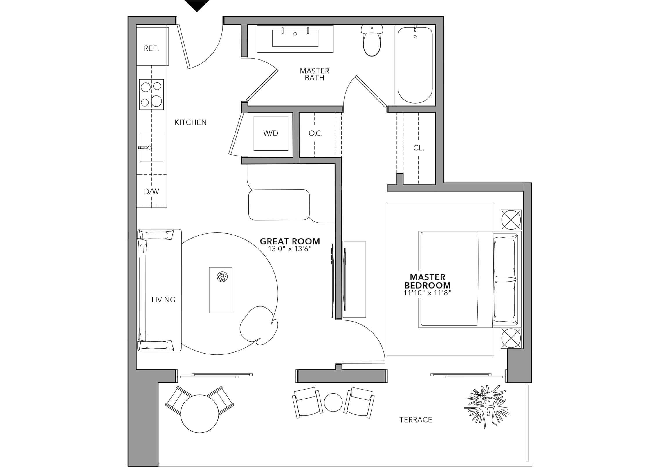 Type 8 (Floor 24-47)