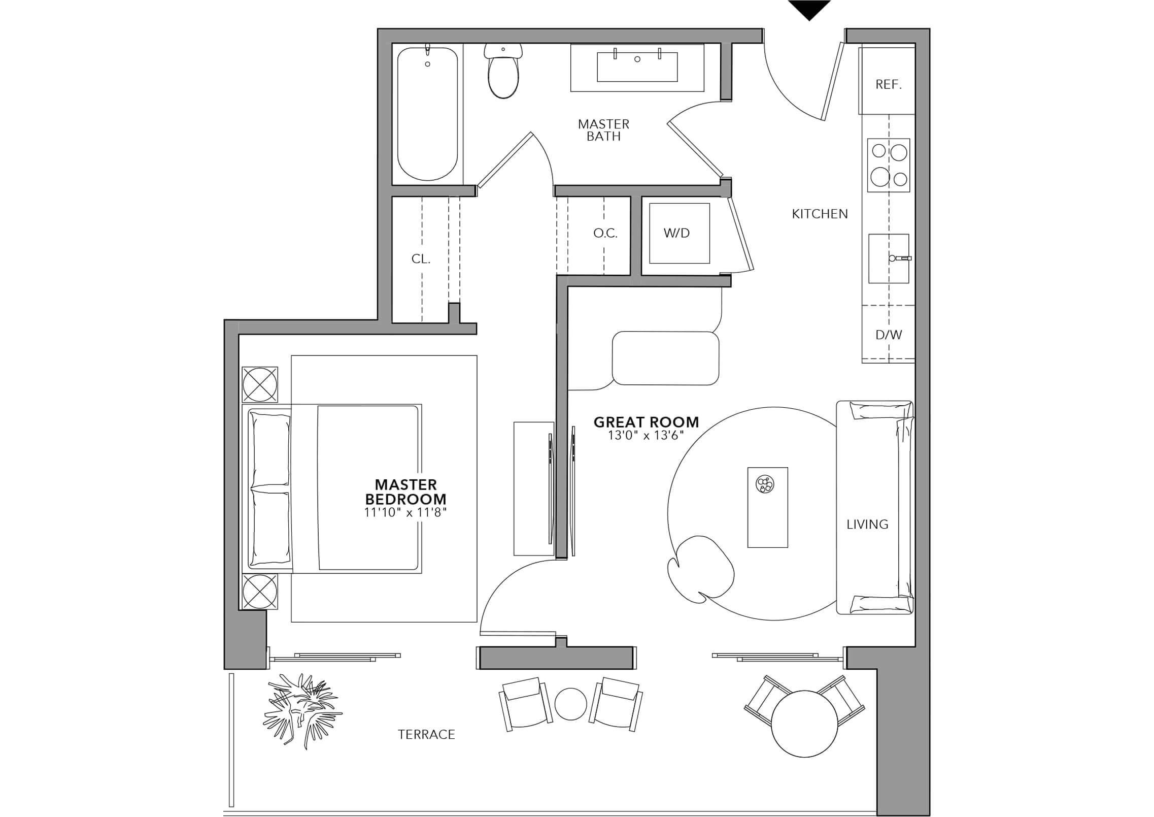 Type 7 (Floor 24-47)