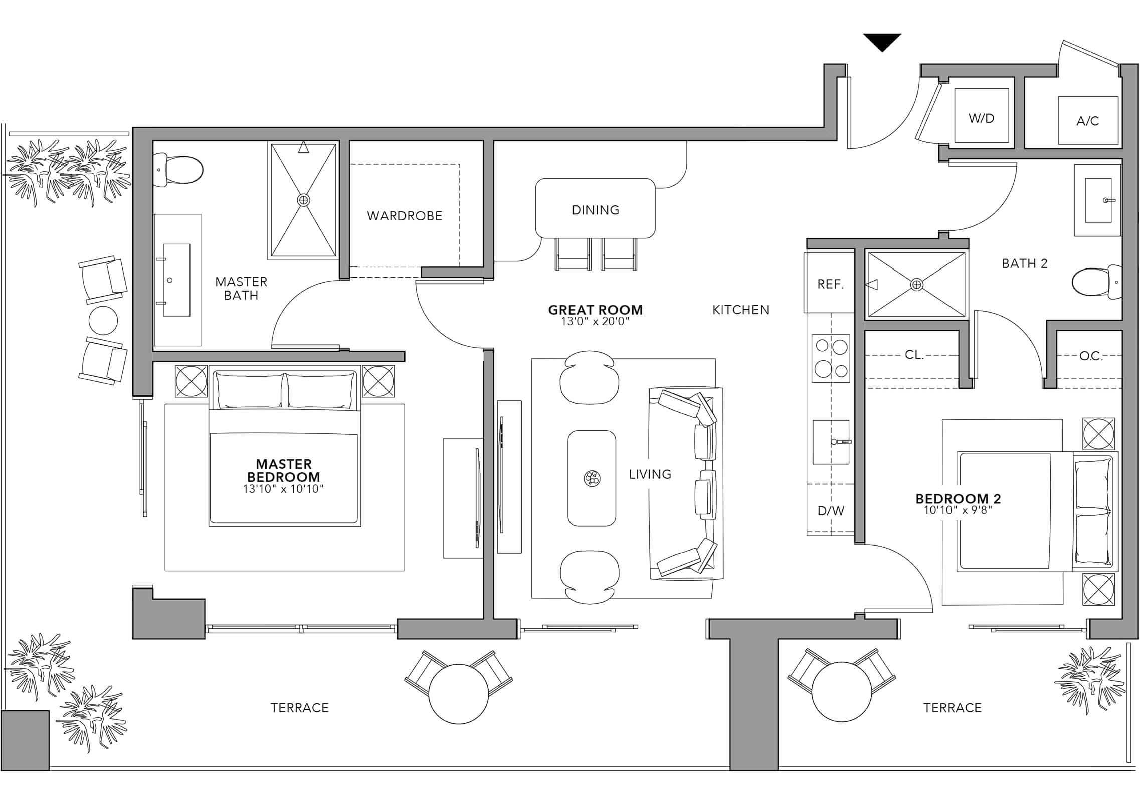 Type 5 (Floor 24-47)