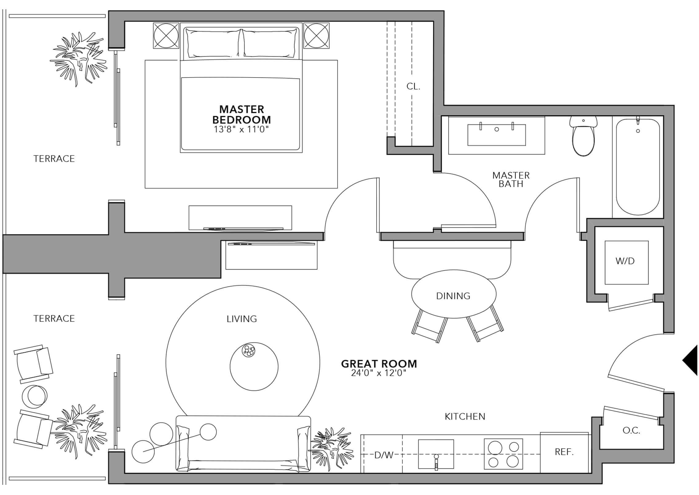 Type 4 (Floor 24-47)