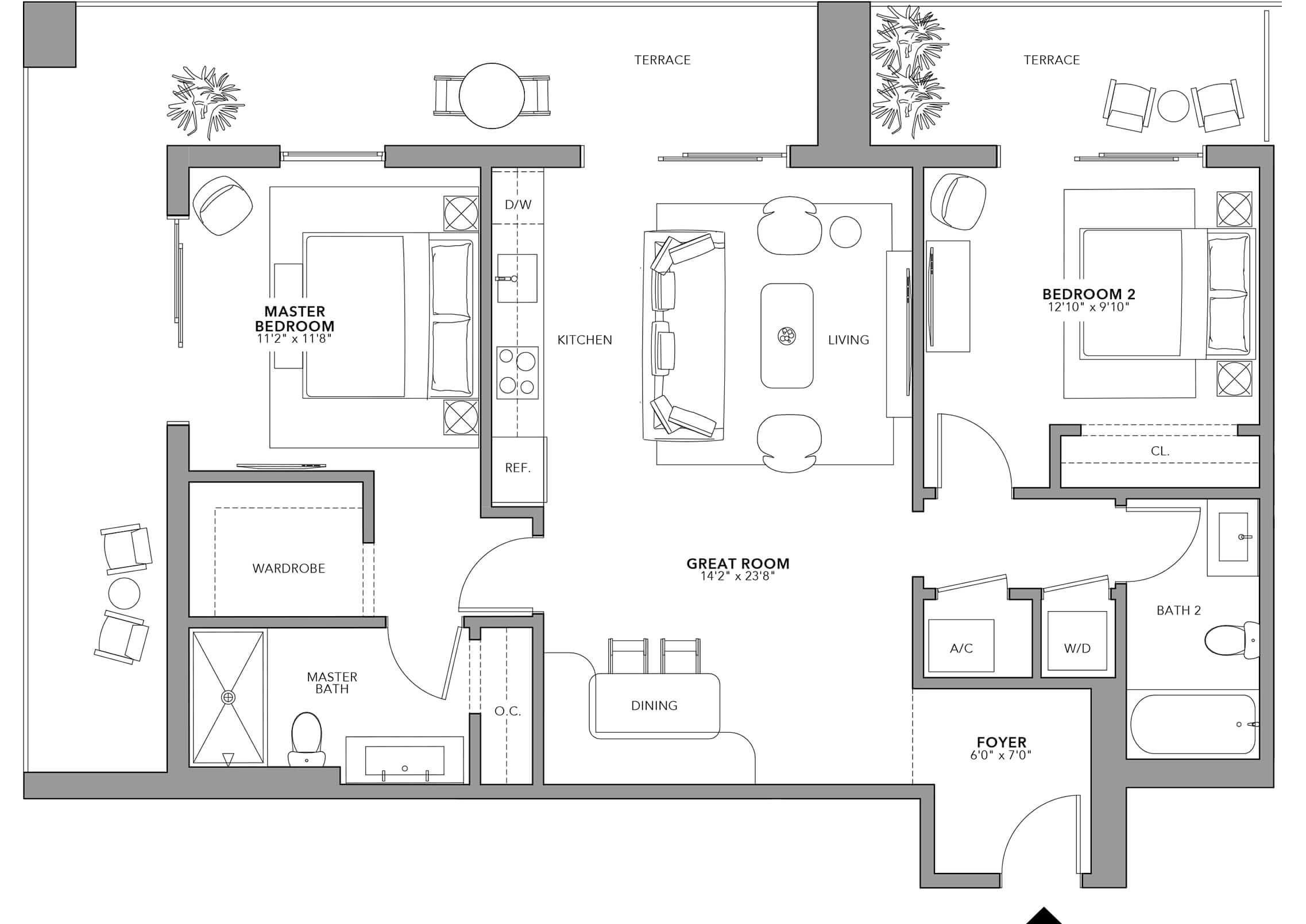 Type 2 (Floor 24-47)