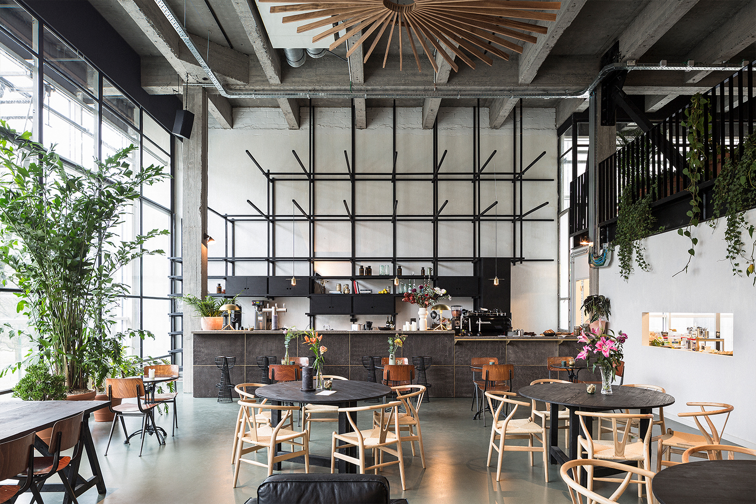 midori hub, a midori lunch location, in fosbury and sons harmony in Antwerp