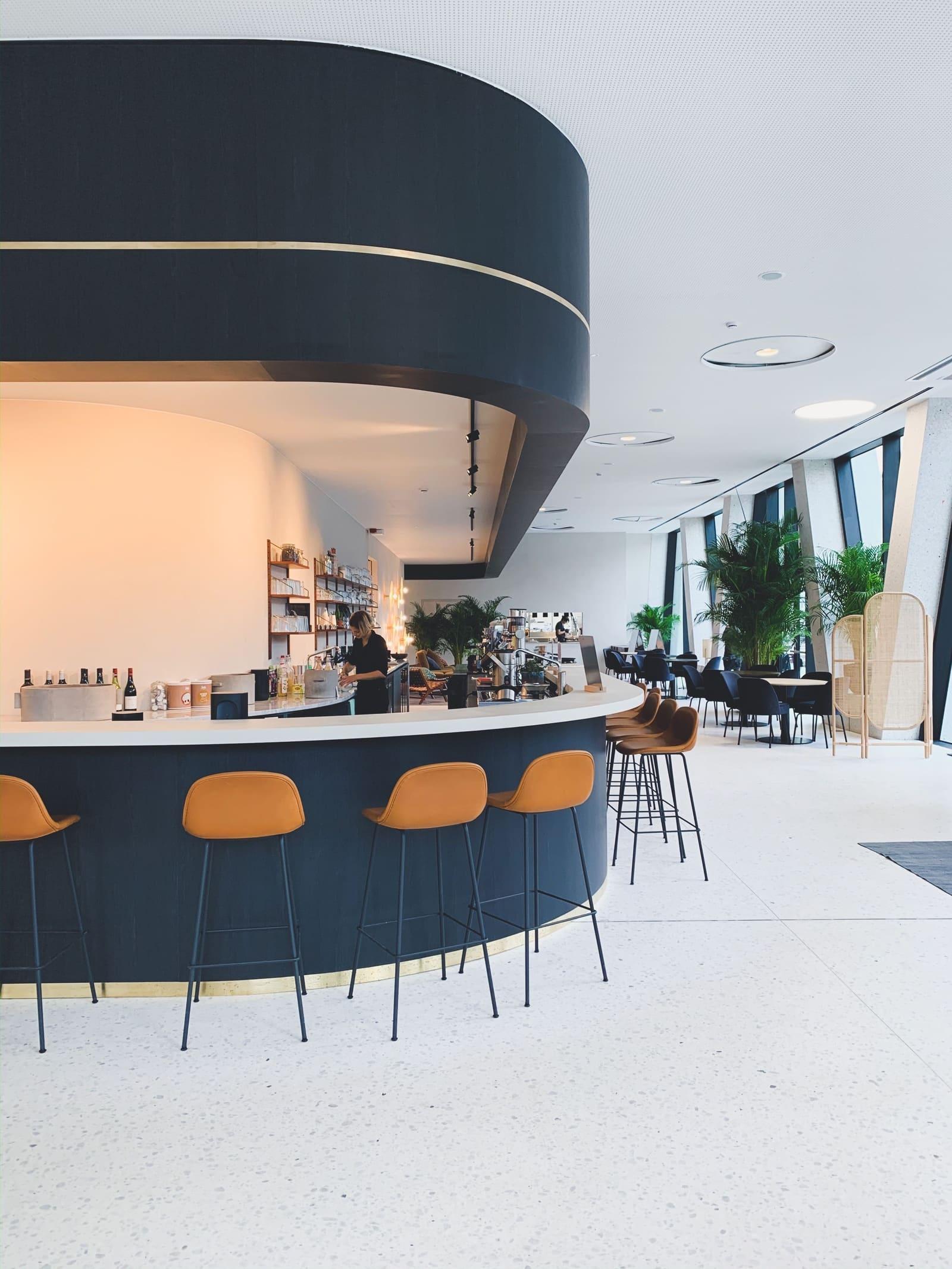 midori hub, a midori lunch location, in DPG media in Antwerp