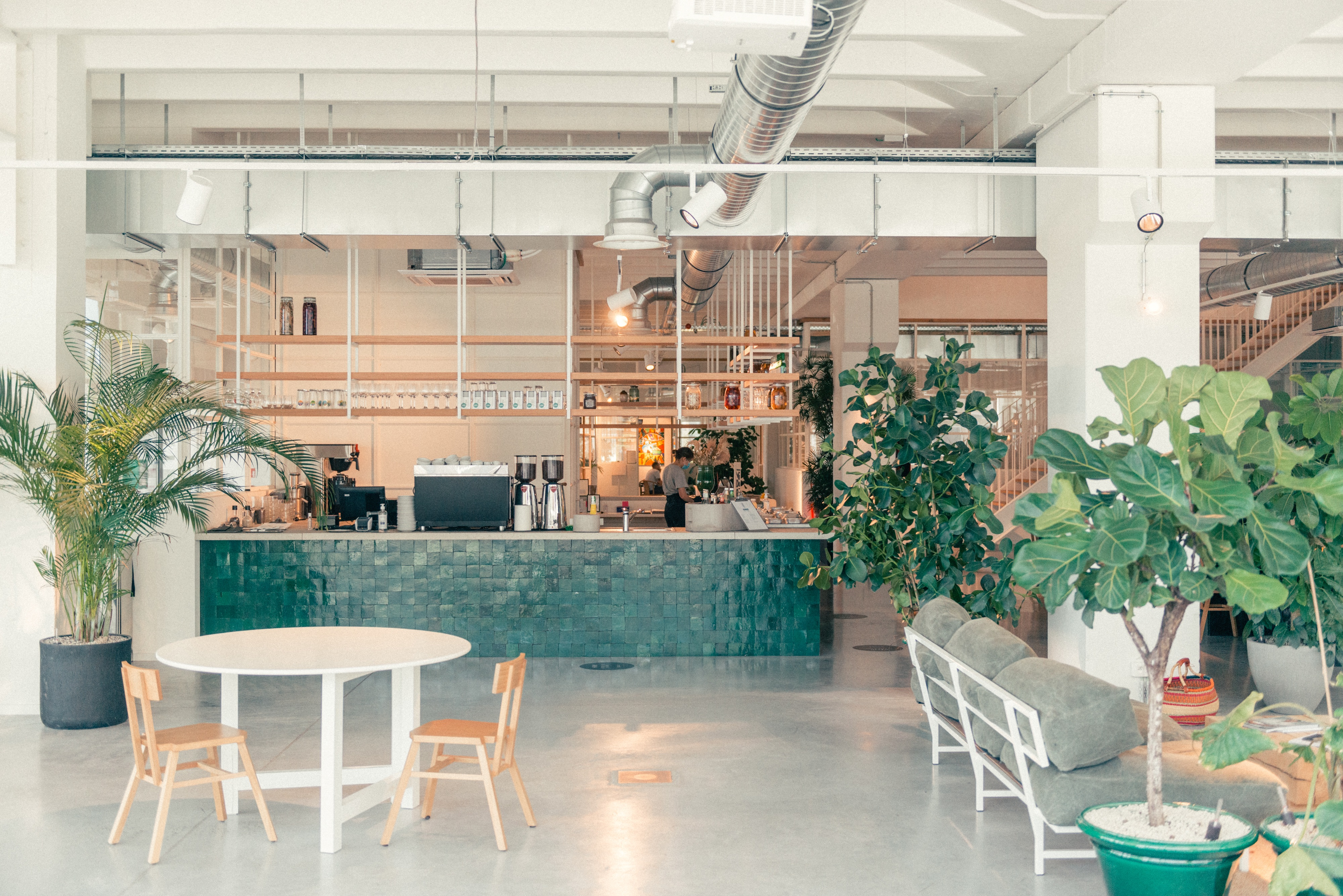 midori hub, a midori lunch location, in Fosbury and Sons Alfons in Brussels