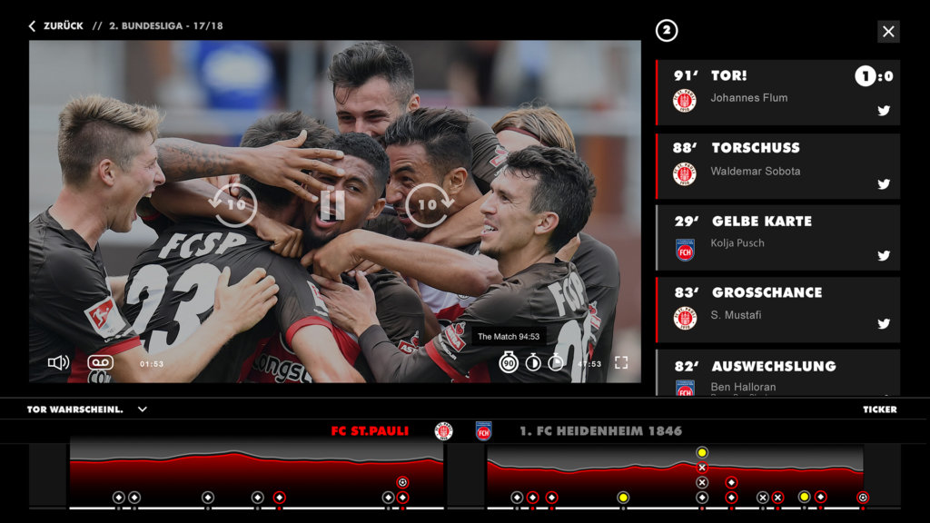 3READY Sports enables rich on-screen data to add appeal to sports TV