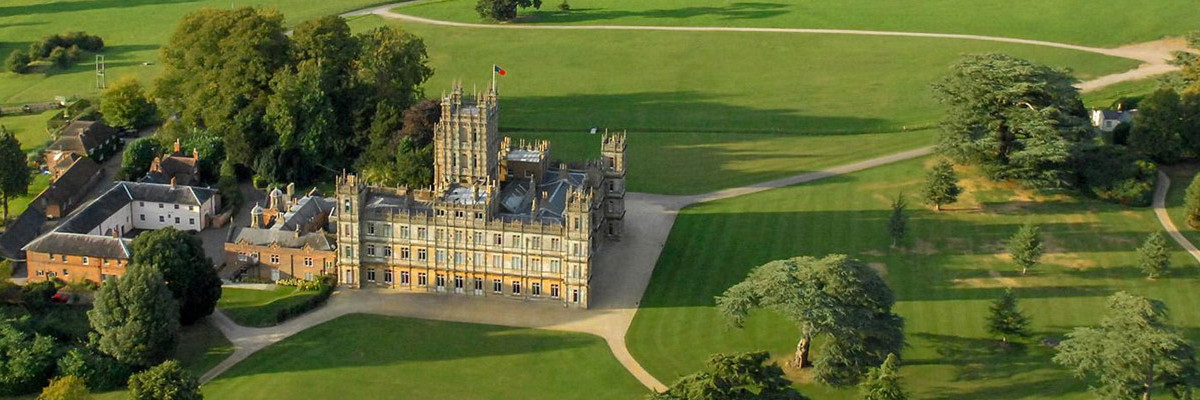 Get a taxi to Highclere Castle, home of Downton Abbey.