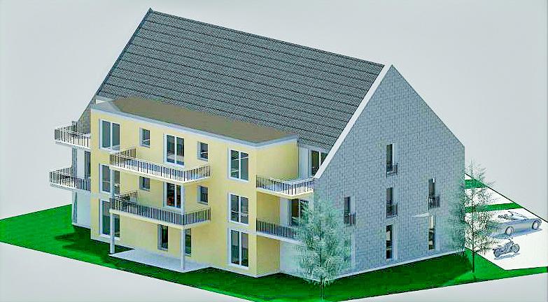 Neubau! Modernes Mehrfamilienhaus mit 9 Wohneinheiten in Wolmirstedt