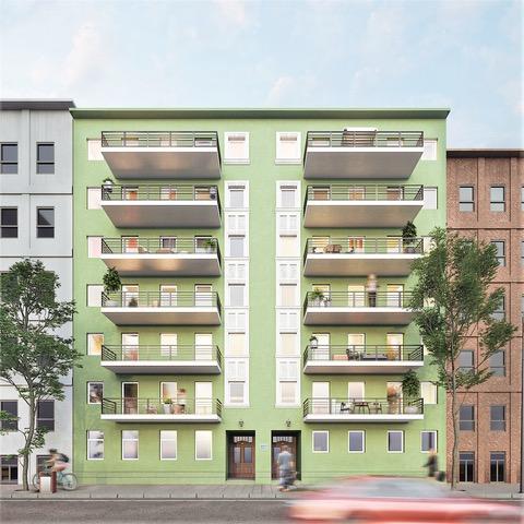 Kernsaniertes Mehrfamilienhaus im Stadtzentrum von Magdeburg