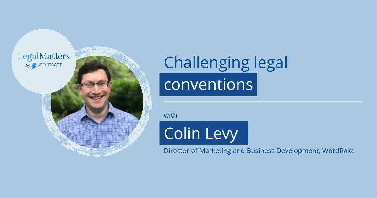 Colin Levy - LegalMatters Open Graph